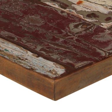 vidaXL Baro baldų komplektas, 9d., perdirbta mediena, įvairių spalvų[5/21]