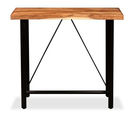"""vidaXL Bar Table Solid Sheesham Wood 47.2""""x23.6""""x42.1""""[10/11]"""