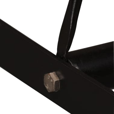 vidaXL Barový stůl z masivního sheeshamového dřeva 150 x 70 x 107 cm[7/13]