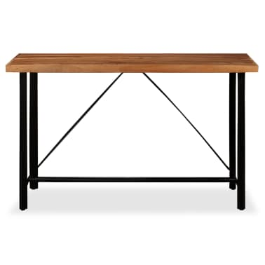 vidaXL Table de bar Bois massif de Sesham 180 x 70 x 107 cm[2/14]