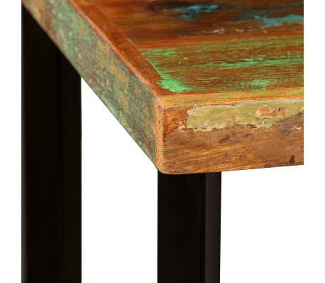 """vidaXL Bar Table Solid Reclaimed Wood 23.6""""x23.6""""x42.1""""[3/11]"""