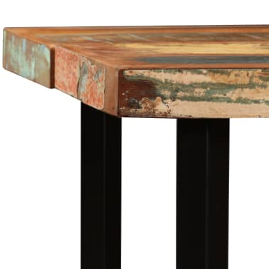 "vidaXL Bar Table Solid Reclaimed Wood 59""x27.6""x42.1""[3/13]"