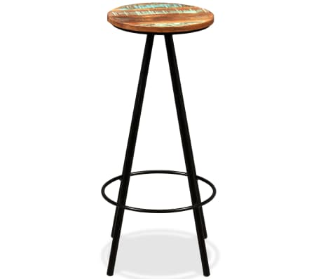 vidaXL Bar Stools 2 pcs Solid Reclaimed Wood[15/16]