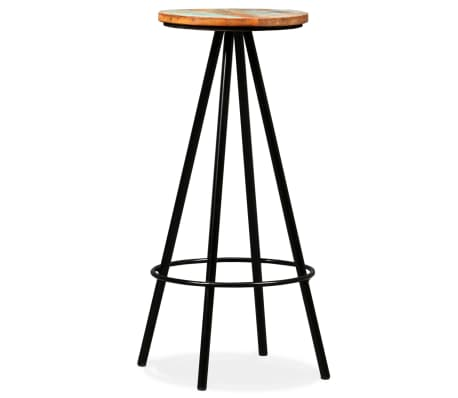 vidaXL Bar Stools 2 pcs Solid Reclaimed Wood[8/16]