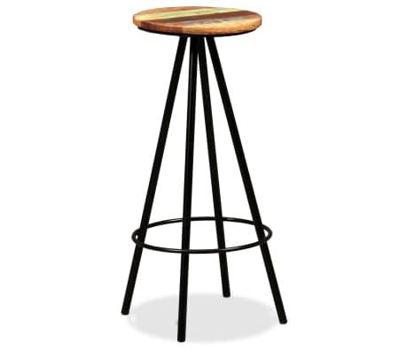 vidaXL Bar Stools 2 pcs Solid Reclaimed Wood[10/16]
