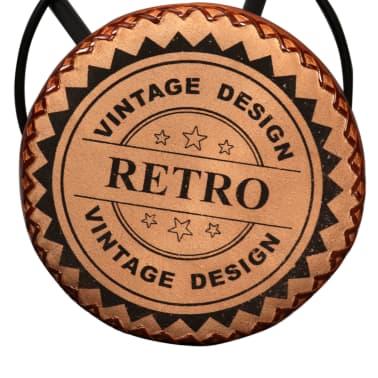 vidaXL Bar Stools 2 pcs Real Leather[7/15]