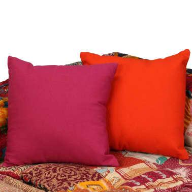 vidaXL 4-vietė modulinė sofa lova, skiautinis audinys[11/20]