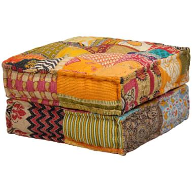 vidaXL Dvivietė modulinė sofa lova, skiautinis dizainas[4/11]