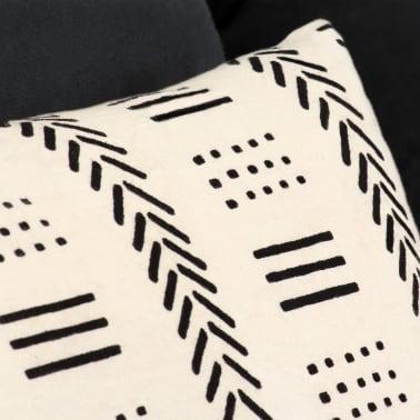 vidaXL 2-miestna modulárna rozkladacia pohovka, textilná, pruhovaná[6/10]