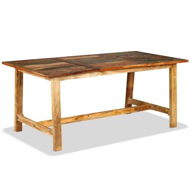vidaXL Jídelní stůl z masivního recyklovaného dřeva 180 cm[1/11]