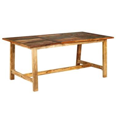 vidaXL Jídelní stůl z masivního recyklovaného dřeva 180 cm[2/11]