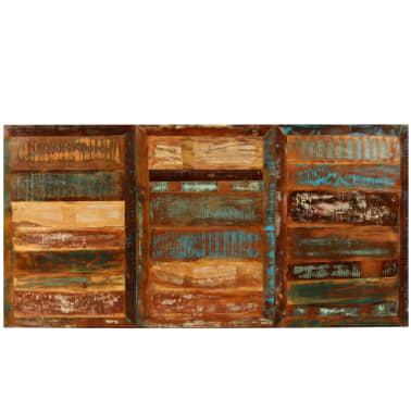 vidaXL Jídelní stůl z masivního recyklovaného dřeva 180 cm[4/11]