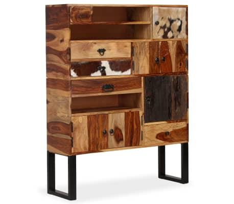 vidaXL Sideboard Sheesham-Holz Massiv 100 x 30 x 130 cm[13/14]