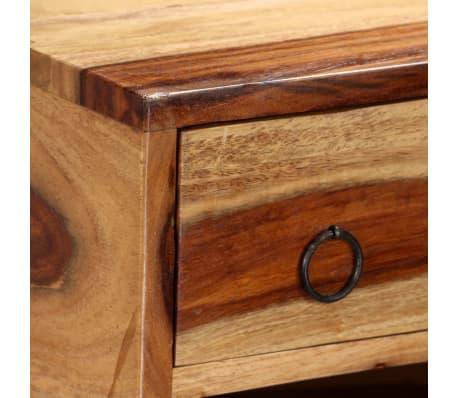 vidaXL Sideboard Sheesham-Holz Massiv 100 x 30 x 130 cm[5/14]