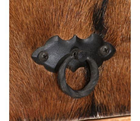 vidaXL Sideboard Sheesham-Holz Massiv 100 x 30 x 130 cm[7/14]