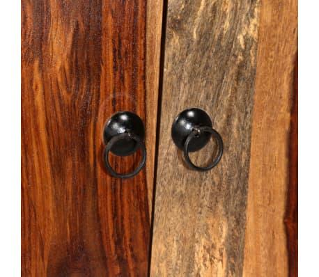 vidaXL Sideboard Sheesham-Holz Massiv 100 x 30 x 130 cm[8/14]