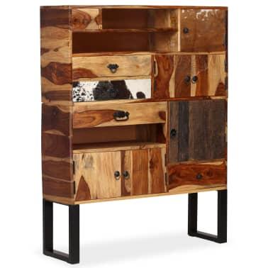 vidaXL Sideboard Sheesham-Holz Massiv 100 x 30 x 130 cm[12/14]