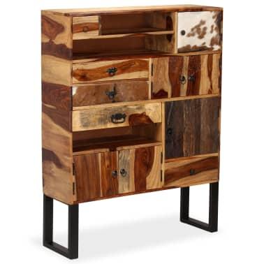 vidaXL Sideboard Sheesham-Holz Massiv 100 x 30 x 130 cm[14/14]