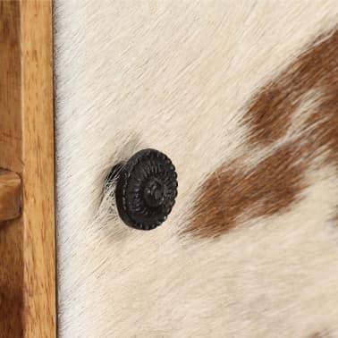 vidaXL Sideboard Sheesham-Holz Massiv 100 x 30 x 130 cm[6/14]