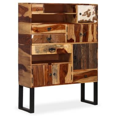 vidaXL Sideboard Sheesham-Holz Massiv 100 x 30 x 130 cm[10/14]