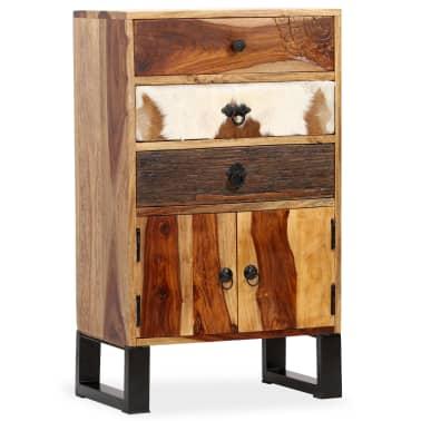 vidaXL Spintelė, masyvi rausvosios dalbergijos mediena, 50x30x86cm[1/14]