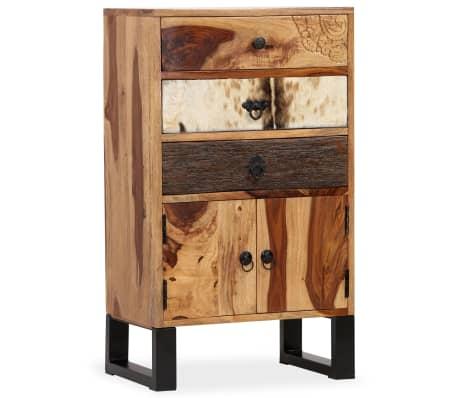 vidaXL Spintelė, masyvi rausvosios dalbergijos mediena, 50x30x86cm[11/14]