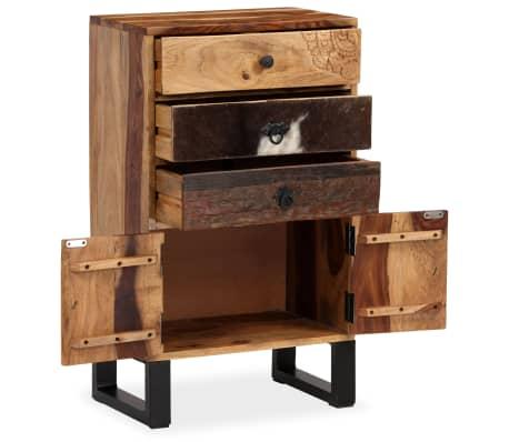 vidaXL Spintelė, masyvi rausvosios dalbergijos mediena, 50x30x86cm[4/14]