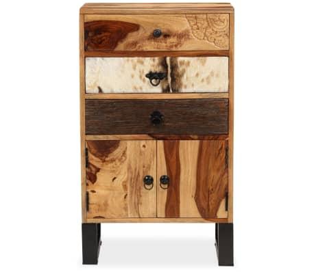 vidaXL Spintelė, masyvi rausvosios dalbergijos mediena, 50x30x86cm[5/14]