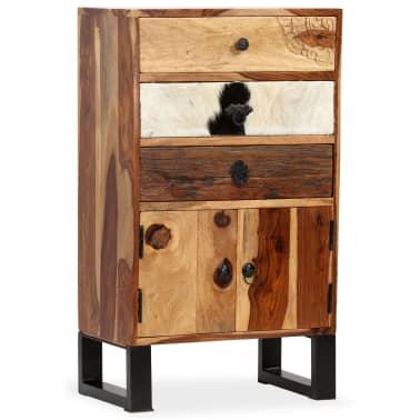 vidaXL Spintelė, masyvi rausvosios dalbergijos mediena, 50x30x86cm[13/14]