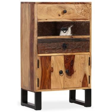 vidaXL Spintelė, masyvi rausvosios dalbergijos mediena, 50x30x86cm[14/14]