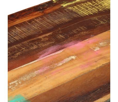 vidaXL Konferenční stolek s 3 zásuvkami recyklované dřevo 100x50x35 cm[6/16]