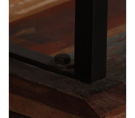 vidaXL Šoninė spintelė su lentynomis, perdirbta mediena, 65x30x180 cm[8/15]