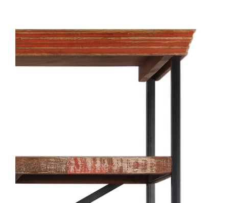 vidaXL Buffet avec étagères Bois de récupération massif 120x35x200 cm[9/14]