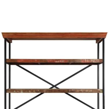 vidaXL Buffet avec étagères Bois de récupération massif 120x35x200 cm[5/14]