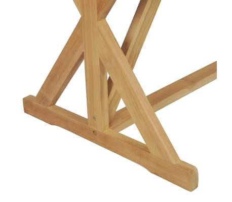 vidaXL Table de salle à manger Bois de teck massif 180 x 90 x 75 cm[6/8]