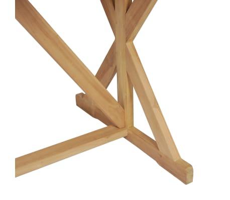vidaXL Table de salle à manger Bois de teck massif 180 x 90 x 75 cm[7/8]