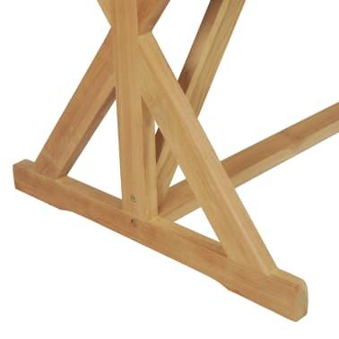 vidaXL Stół do jadalni z litego drewna tekowego, 180 x 90 x 75 cm[6/8]