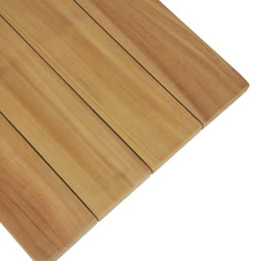 vidaXL Bancă de grădină, 120 cm, lemn masiv de tec[6/10]