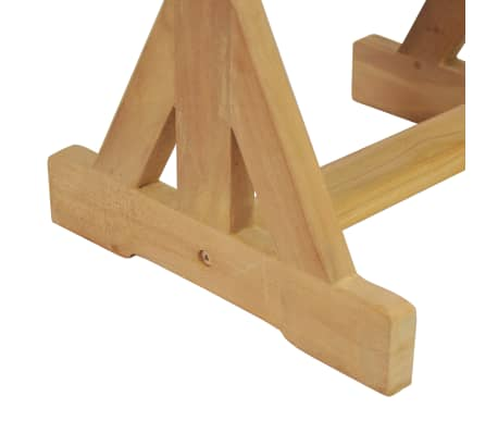 vidaXL Gartenhocker 42×35×45 cm Massivholz Teak[6/7]