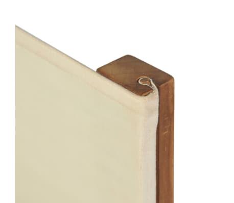 vidaXL Chaise pliable de metteur en scène Bois de teck solide[8/10]