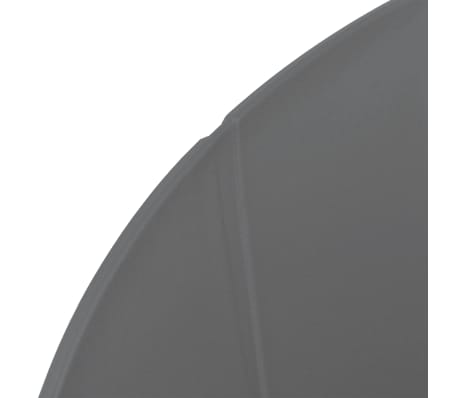 vidaXL Komplet 6 krzeseł, szare, plastikowe siedziska i stalowe nogi[5/6]
