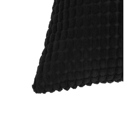 vidaXL Set Jastuka 2 kom od Velura 40x60 cm Crni[3/5]