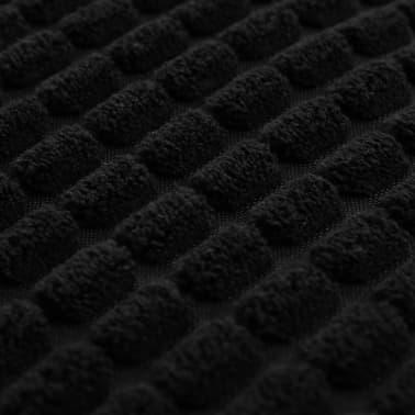 vidaXL Sierkussenset 60x60 cm velours zwart 2-delig[4/5]