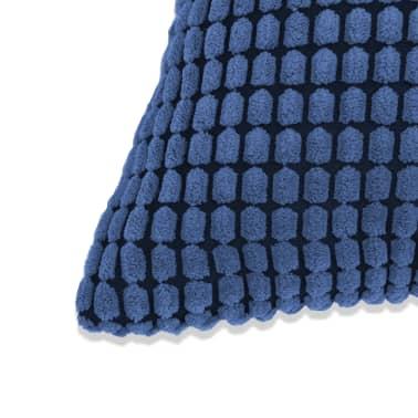 vidaXL Set Jastuka 2 kom od Velura 60x60 cm Plavi[3/5]