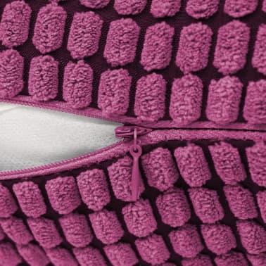 vidaXL Set Jastuka 2 kom od Velura 40x60 cm Ružičasti[5/5]