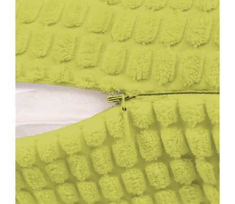 vidaXL Set Jastuka 2 kom od Velura 45x45 cm Zeleni[4/5]