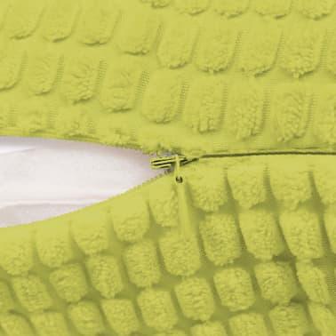 vidaXL Set Jastuka 2 kom od Velura 40x60 cm Zeleni[4/5]