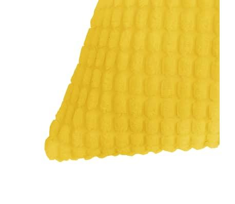 vidaXL Set Jastuka 2 kom od Velura 45x45 cm Žuti[3/5]