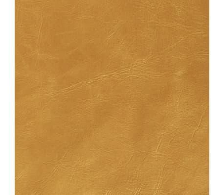 vidaXL Set jastuka od PU kože 2 kom 40x60 cm boje zlata[5/5]