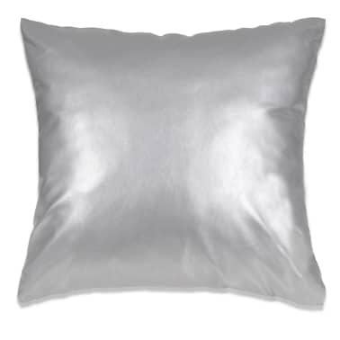 vidaXL Set jastuka od PU kože 2 kom 60x60 cm srebrni[2/5]